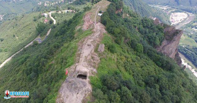 İki Bin Yıllık Kurul Kalesi Tarihe Işık Tutacak