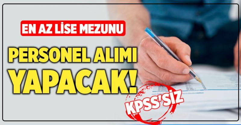 KPSS'siz En az Lise mezunu TRT personel alımı yapacak!