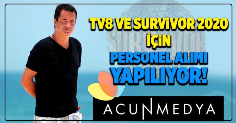 TV8 ve Survivor 2020 İçin Personel Alımı Yapılıyor! İşte Detaylar...
