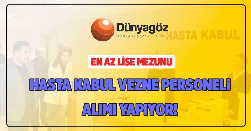 Hasta Kabul Vezne Personeli Alımı Yapılıyor!