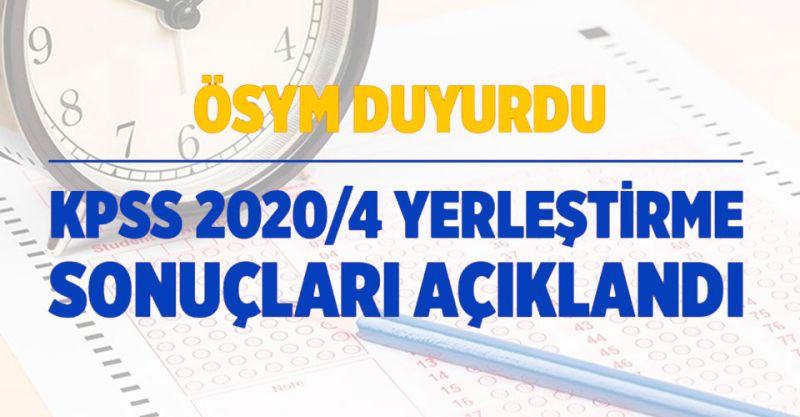 KPSS 2020/4 Sağlık Bakanlığı Personel Alımı Tercih Sonuçları Açıklandı!