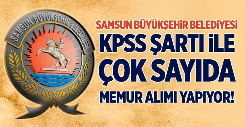 Belediye KPSS İle Çok Sayıda Memur Alımı Yapıyor!