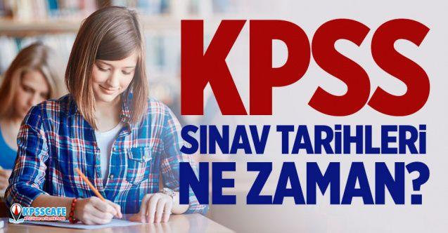 KPSS Sınav Tarihleri Ne Zaman?