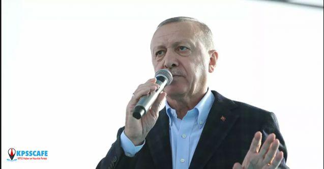 Cumhurbaşkanı Erdoğan: Kanal İstanbul Projesi İhaleye Çıkacak!