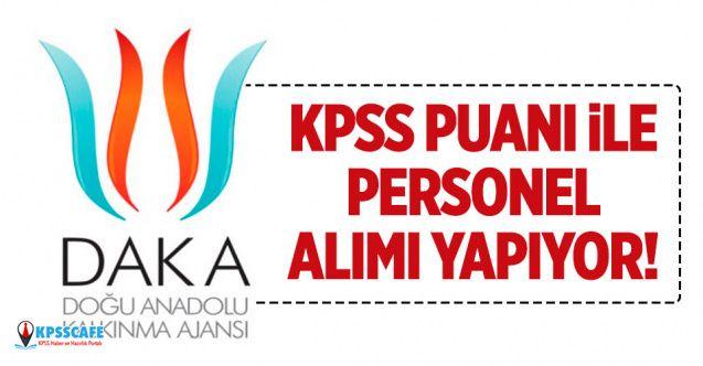 Doğu Anadolu Kalkınma Ajansı Personel Alımı Yapıyor!