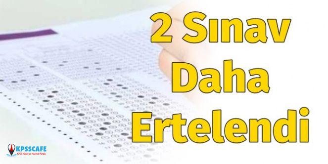 Ziya Selçuk duyurdu: 2 Sınav Daha Ertelendi