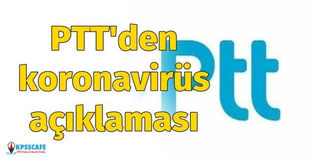 PTT, Koronavirüs Sebebi ile Cumartesi Günü Bazı Teslimatları Yapmayacak!