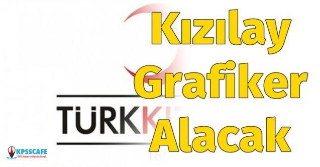 Türk Kızılayı Grafiker Alımı Yapacak