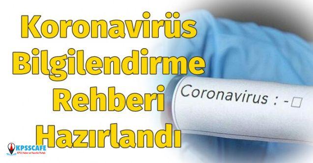 Bakan Duyurdu: Koronavirüs Bilgilendirme Rehberi Hazırlandı