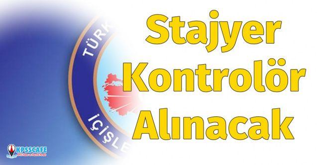 İçişleri Bakanlığı Stajyer Kontrolör Kadrosu için 15 Personel Alımı Yapacak