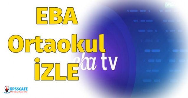 EBA TV Ortaokul İzleme Adresi 25 Mart 2020! EBA TV Ortaokul Frekans Bilgisi Nedir?