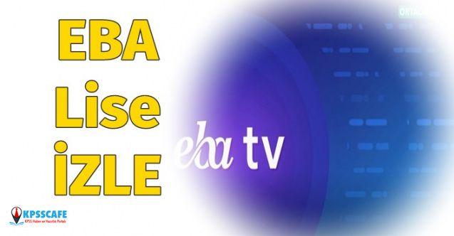 EBA TV 25 Mart Lise İzle! EBA TV Ortaokul Frekans Bilgisi Nedir?