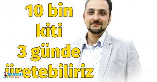 Fatih Sultan Mehmet Vakıf Üniversitesi'nden 10 Bin Kiti 3 Günde Üretebiliriz Çağrısı