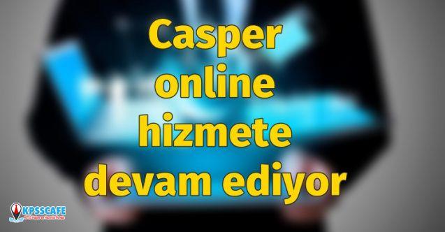 Teknoloji firması Casper online hizmete devam ediyor