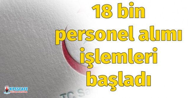 Sağlık Bakanlığı 18 Bin Personel Alımı için Tercih İşlemleri Başladı