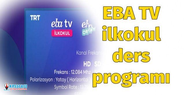 EBA 1,2,3 ve 4. Sınıf 30 Mart 2020 Ders Programı Yayınlandı