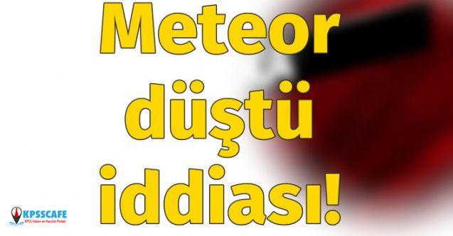 Meteor Mu Düştü? Nijerya'ya Meteor Mu Düştü? Meteor Düştüğü Doğru Mu?