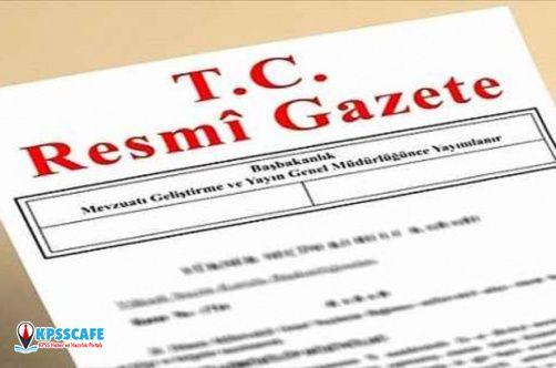 Resmi Gazete 12 Nisan 2020 tarihli ve 31097 sayısı yayınlandı