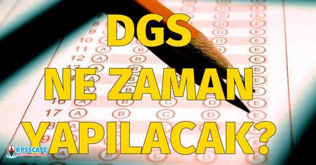 DGS sınav ne zaman yapılacak? DGS sınav tarihi nedir?