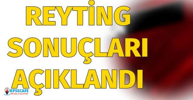 14 Nisan Reyting Sonuçları Açıklandı