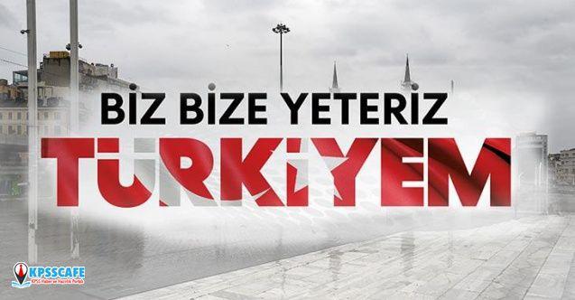 Biz Bize Yeteriz Türkiyem ne kadar bağıl yapıldı?