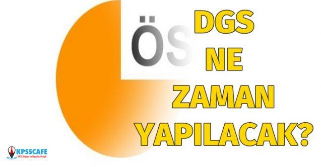 DGS-Dikey geçiş sınavı ne zaman yapılacak?