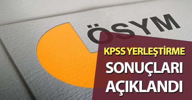 KPSS 2020/10 Yerleştirme Sonuçları Açıklandı!