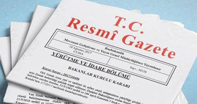 Cumhurbaşkanı Erdoğan Resmi Gazete'de Atama Kararları Yayımladı!
