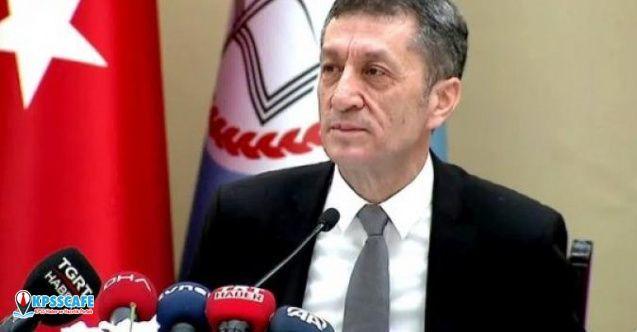 MEB Bakanı Ziya Selçuk Yüz Yüze Sınavların Yapılacağı Tarihi Açıkladı!
