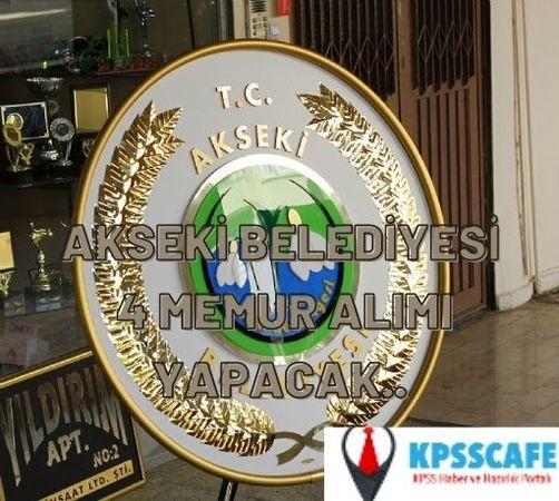 Antalya Akseki Belediyesi Mühendis ve Mimar Alımı Yapacak
