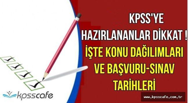 2022 KPSS Ortaöğretim, Lise Konuları Ve Soru Dağılımı