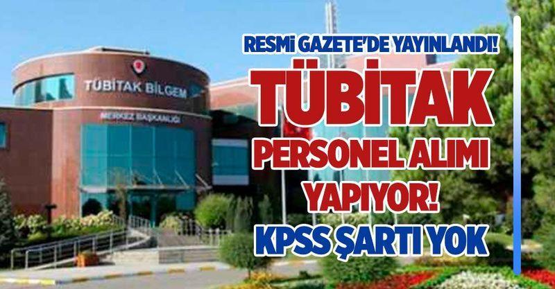Tübitak En  Az Ön lisans Mezunu Büro Memuru, Yönetici Asistanı 43 Personel Alımı Yapacak