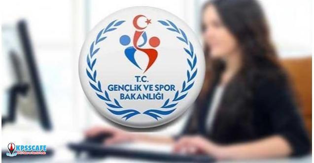 Gençlik Ve Spor Bakanlığı ( GSB ) 8121 Memur Ve Personel Alımı Yapacak