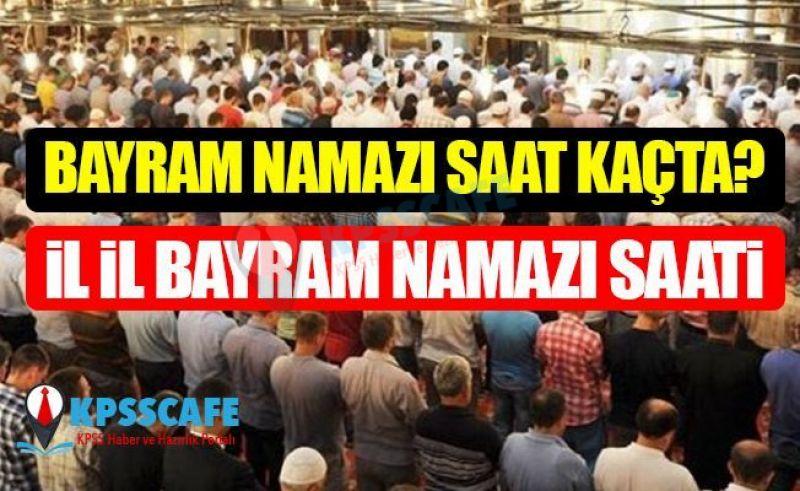 13 Mayıs Ramazan Bayramı Namazı Saatleri! Bayram Namazı Kılınacak mı?