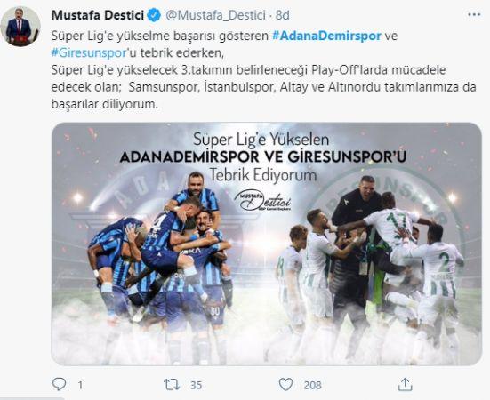 Adana Demirspor 26 Yıl Sonra Tekrar Süper Lig'e Yükseldi