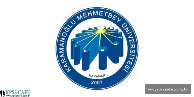 Karamanoğlu Mehmetbey Üniversitesi sözleşmeli 17 sağlık personeli alacak