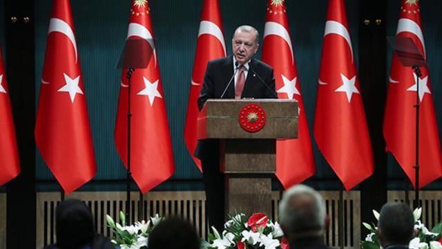 21 Haziran 2021 Kabine Toplantısı Kararları'nı Cumhurbaşkanı Erdoğan Açıkladı