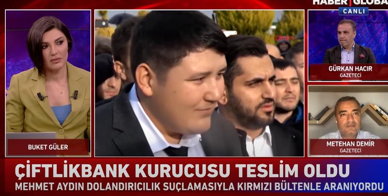 Çiftlik Bank Vurguncusu Tosuncuk Lakaplı Mehmet Tosun Teslim Oldu