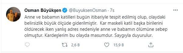 Büyükşen Çifti Cinayeti Çözüldü! Katilleri, Osman Büyükşen Duyurdu!