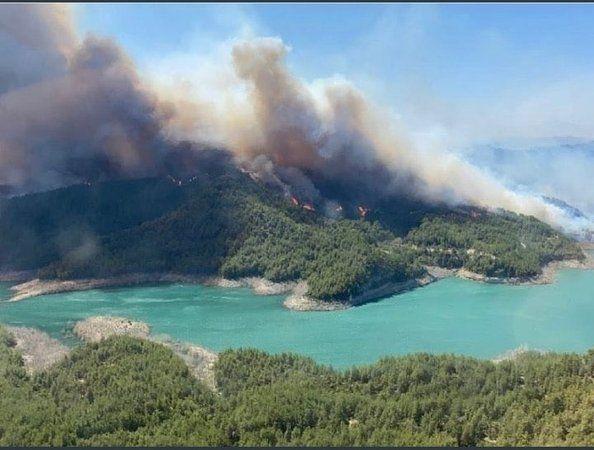Manavgat'tan Kahreden Haber! 2 Yangın İşçisi Hayattını Kaybetti!