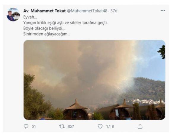 Muğla Milas'ta Yangın Kritik Eşiği Aştı! Belediye Başkanı Son Durumu Paylaştı!
