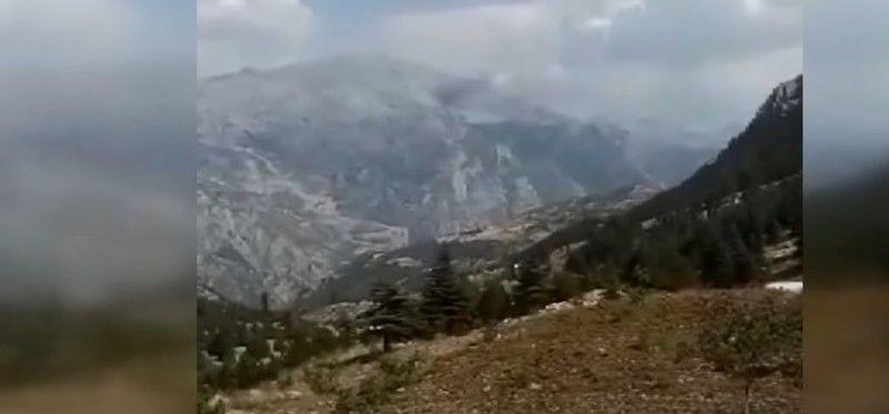 Kahramanmaraş'ta Orman Yangınına Müdahale Eden Uçak Düştü
