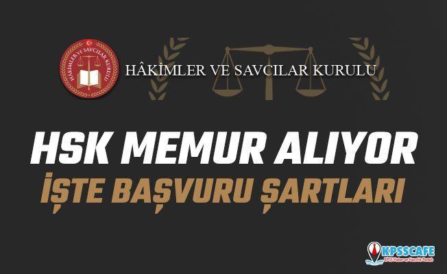 Hakimler Ve Savcılar Kurulu ( HSK ) VHKİ Ve Hizmetli Unvanlarıyla 10 Personel Alımı Yapacak