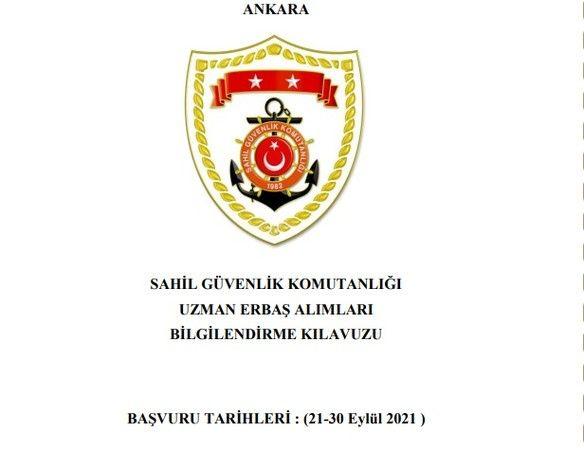 Sahil Ve Güvenlik Komutanlığı 300 Askeri Personel Alımı Yapacak