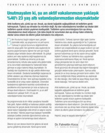 Bakan Fahrettin Koca'dan Üniversite Öğrencilerine Çağrı!