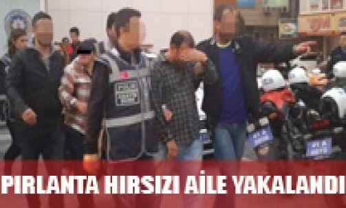 Pırlanta hırsızı aile Gültepe'de yakalandı