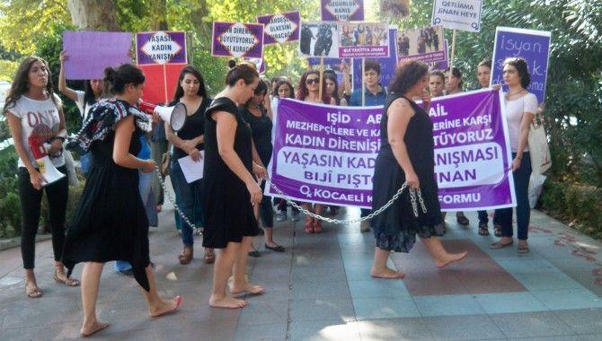 Kocaeli Kadın Platformu'ndan barış çağrısı
