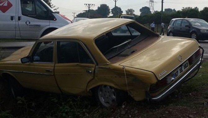 Başiskele'de kaza: 1 yaralı