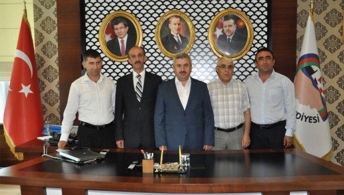 Başkan Baran, Karabağ Azatlık Teşkilatını makamında ağırladı