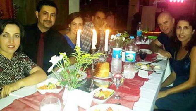 Dr. Altuntaş'a veda yemeği